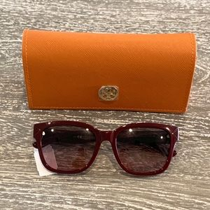 Tory Burch Sunglasses Bordeaux Red
